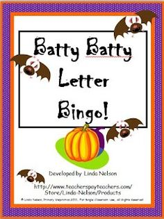 FREE K-1 letter bingo. Other versions available: alphabet sequence, letter sounds, sight words, sight words in context