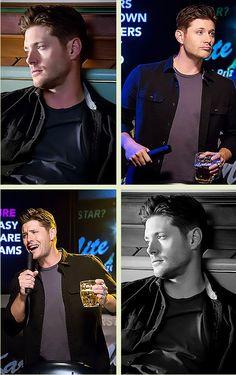I loved Demon Dean! Jensen Ackles, Jared And Jensen, Demon Dean, Bae, Sam And Dean Winchester, Cw Series, Supernatural Destiel, I Like Him, The Cw