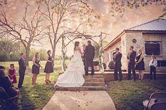 Outdoor Wedding www.bfaithphotographydfw.com