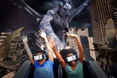 #Halloween version of #VR at #SixFlags