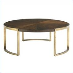 Crestaire-Autry Round Cocktail table in Porter
