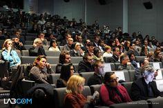#Public de participants à la conférence #LabCom