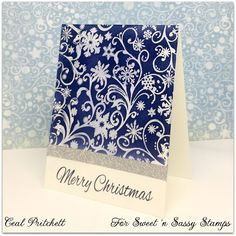 Sweet 'n Sassy Stamps: Blue Christmas