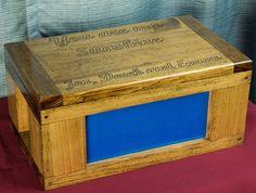 Keepsake box, First retirement project