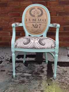 French Louis XVI Armchair Shabby Chic by THRONEupholstery on Etsy, $589.00