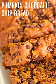 You will absolutely love this delicious Pumpkin Bread. It makes two loaves. One for you and one for a neighbor. Or just two for yourself, we don't judge. Pumpkin Chocolate Chip Bread, Pumpkin Bread, Biscuit Recipe, Dough Recipe, Cake Mix Brownies, Dessert Bread, Pumpkin Recipes, Bread Baking, Sweet Tooth