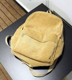 Women Backpack 2016 Solid Corduroy Backpack Simple Tote Backpack School Bags For Teenager Girls Students Shoulder Bag Travel Bag Travel Bags For Women, Bags For Teens, Leather Backpack, Tote Backpack, Fashion Backpack, Backpack Handbags, Fashion Bags, Luggage Bags, Kids Luggage