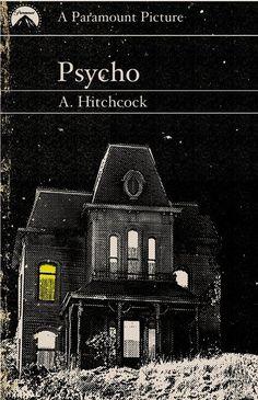 Psycho (1960) ~ Alternative Movie Poster by Trevor Dunt