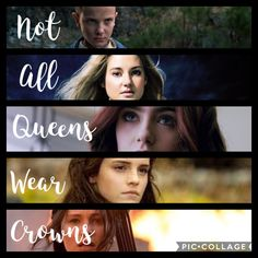 {not all queens wear crowns} – girl power Harry Potter Feels, Harry Potter Jokes, Harry Potter Fandom, Divergent Hunger Games, Hunger Games Humor, Girl Power Quotes, Girl Quotes, Image Triste, Citations Film