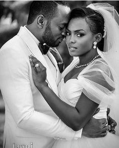 """Stunning! Congratulations Aisha and Olumide.Photography by @lumimorg. #africansweetheartweddings #brideandgroom #love"""