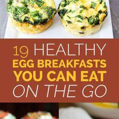 Easy Egg Breakfasts