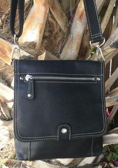 Fossil Messenger Crossbody Organizer Black Leather Nice Everyday/Travel EUC in Clothing, Shoes & Accessories, Women's Handbags & Bags, Handbags & Purses | eBay