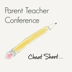 13 Questions to Ask at a Parent Teacher Conference. And 13 things a teacher can be looking out to help the child.