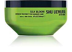 We Adore: The Silk Bloom Restorative Treatment Masque For Damaged Hair from Shu Uemura Art of Hair at Barneys New York