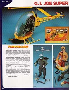 The G.I. Joe Adventure Team helicopter!