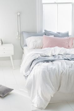 White Linen for your weekend sleep in   Buy Hampton Duvet Cover Set   Shop Duvet Covers Home & Gift at EziBuy NZ