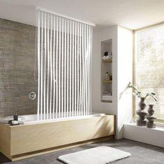 duschvorhang flexible l sung f r badewanne und dusche duschrollo kleine wolke und wolke. Black Bedroom Furniture Sets. Home Design Ideas