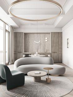 Apartment Interior Design, Interior Design Living Room, Living Room Designs, Interior Decorating, Living Rooms, Sofa Design, Furniture Design, Luxury Furniture, Modern Furniture