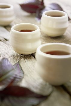 """3 x 3"""" porcelain cups"""