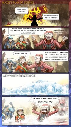 """commanderxanderpanda: """" Maxie is a disgrace to science nerds everywhere by RadenWA """" Looks like @teammagma-pokemongo has been defeated! ;)"""