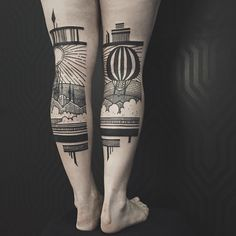 Adorable_Back_of_Leg_Tattoos_by_Thieves_of_Tower_2015_03