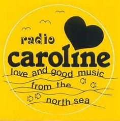 radio caroline sticker 1970s