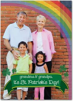 Precious Treasure - St Patricks Day Cards in Forest Green | Magnolia Press