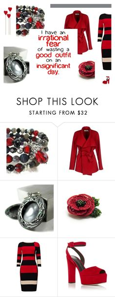 """""""Irrational Fear~"""" by jillsjoyagol ❤ liked on Polyvore featuring BGN, Phase Eight and Giuseppe Zanotti"""