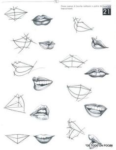 7 Drawing Tips for Beginners Art Drawings Simple, Sketches, Art Sketchbook, Drawings, Anatomy Drawing, Art Drawings Sketches, Art, Lips Drawing, Art Tutorials