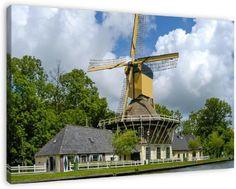 Windmill 't Haantje, Weesp, Netherlands
