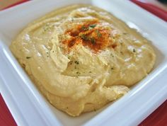 Recipe for Slow Cooker Hummus #hummus #crockpot