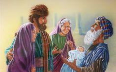 Jozef a Mária  Ježiš
