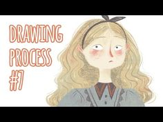 Drawing Process #7 ~ Alice - YouTube