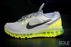 Nike Air Max+ 2013 - Wolf Grey/Black-Volt | Sole Collector