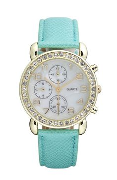 Tiffany Blue watch From Nordstrom only $18 want!!!