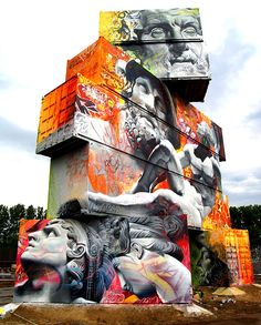 Street Artworks Modern Day Masterpieces