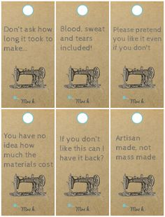 Alternative Gift Tags printables