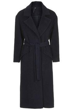 Textured Blanket Coat by Boutique Top Shop