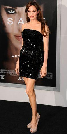 "Angelina Jolie in Emporio Armani (2010 L.A. premiere of ""Salt"")"