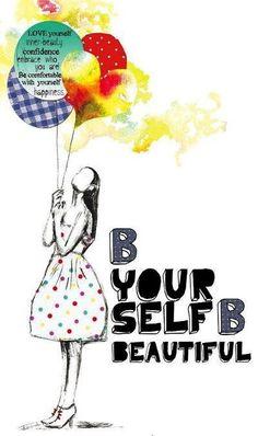 Be yourself via www.Facebook.com/SurfingRainbows
