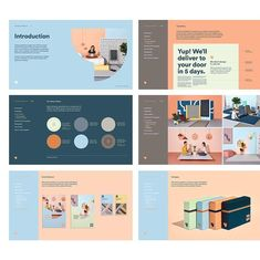 The final step in any of our branding projects before we tackle the rollout, always ends with creating a set of brand guidelines - We… Brand Guidelines Design, Brand Identity Design, Branding Design, Identity Branding, Packaging Design, Corporate Identity, Brand Guidelines Template, Corporate Design, Powerpoint Design Templates