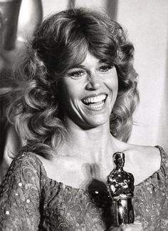 "Jane Fonda 1978.  Best Actress Oscar winner.  Film: ""Coming Home"".  Two time Oscar winner 1971 and 1978."
