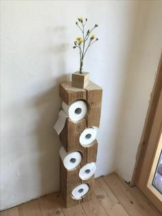 Creative (and Easy) DIY Toilet Paper Holders Unusual Toilet Paper Storage inspiration that Your Bathroom Wants.Unusual Toilet Paper Storage inspiration that Your Bathroom Wants.