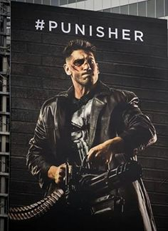 Now here's a much better version of Jon Bernthal as The Punisher. His skull emblem is shown clearly on this Toronto billboard that's advertising for Season 2 of Daredevil which will premiere on Netflix in 5 days. Punisher Billboard in much better clear quality was last modified: March 13th, 2016 by SherryRelated Posts:Punisher Skull Revealed!!Happy ... Read more