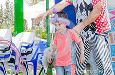 Omer (Beer-Sheva), ISRAEL -The Man And The Boy, Balloon And Plastic Chairs. Play, July 25, 2015 - Download From Over 35 Million High Quality Stock Photos, Images, Vectors. Sign up for FREE today. Image: 57188282