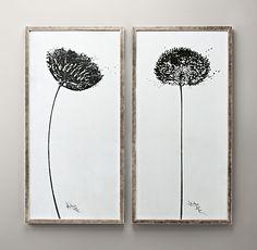 Dandelion Art | Art | Restoration Hardware Baby & Child