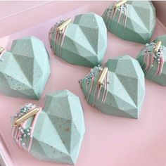 Geometric Cake, Geometric Heart, Chocolate Hearts, Chocolate Molds, Chocolate Cake, Chocolate Butter, Cream Cheese Mints, Chocolate Covered Treats, Cake Craft Company
