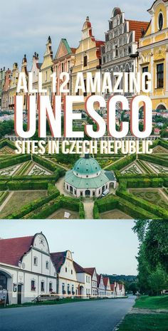 All 12 UNESCO World Heritage Sites in the Czech Republic that you have to check out for yourselves! UNESCO | Czech Republic | Prague | Cesky Krumlov | Europe Travel | UNESCO World Heritage Site | UNESCO World Heritage | Czech Republic Travel | Czech Republic countryside | Europe Travel
