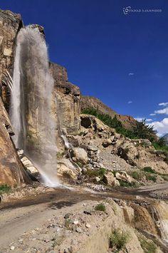 Awesome view of the Skardu waterfall, Skardu valley, Gilgit Baltistan Pakistan Pakistan Zindabad, Pakistan Travel, Beautiful World, Beautiful Places, Amazing Places, Beauty Around The World, Around The Worlds, Places To Travel, Places To See