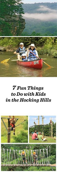 7 fun things to do with kids in Ohio's Hocking Hills, including ziplining, canoeing, and a great place for ice cream: http://www.midwestliving.com/blog/travel/7-fun-things-to-do-with-kids-the-hocking-hills/